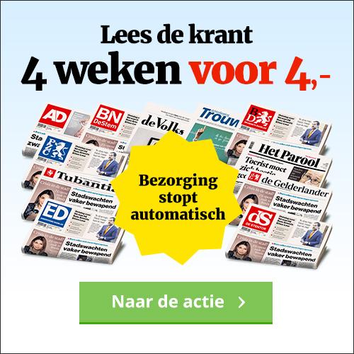 Ad Testers gezocht voor het AD! Je kunt 4 weken het AD Gratis testen. Ontvang 6 dagen per week de krant en betaal slechts €4.-. Na 4 weken stopt het automatische.
