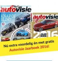 Gratis Autovisie jaarboek 2016 t.w.v. €17.95!