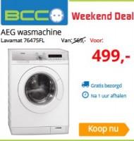 Aeg wasmachine bcc