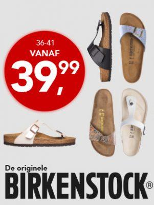 Ben je opzoek naar het kwaliteitsmerk Birkenstock neem dan een kijkje in de Bristol shop want hier zijn de Birkenstock schoenen al te koop vanaf € 39.99.
