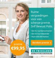 De Friesland zorgverzekeraar | Scherpe prijs en beste service!