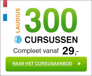 Laudius met 100% laagste lesgeld garantie.