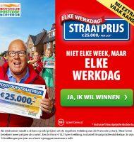 Postcode Loterij | Win elke werkdag €25000,- + BMW!