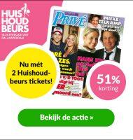 Gratis kaarten huishoudbeurs bij Privé magazine!