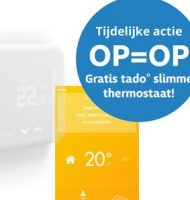 Qurrent energie met Gratis Tado thermostaat