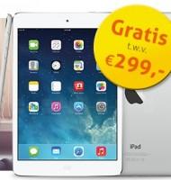 iPad mini 2 cadeau bij De Telegraaf t.w.v. €299,-