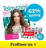 Televizier gids 1 jaar € 25 + Gratis HEMA bon t.w.v. € 10