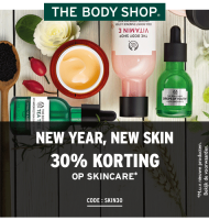 The Body Shop | 30% korting op alle Skincare producten