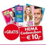 Troskompas aanbieding! Nu een halfjaarabonnement voor €10.- + gratis HEMA cadeaubon t.w.v. €10.-.