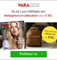 VARAgids + Gratis TheBagStore bon t.w.v. €50.-!