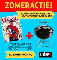 Veronica Magazine met gratis Weber BBQ