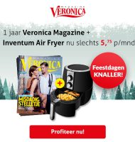 Veronica Tv gids + Inventum Air Fryer | Betaal €69.-