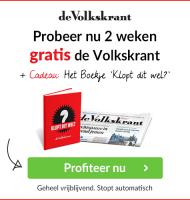 De Volkskrant 2 weken gratis met een gratis boekje!