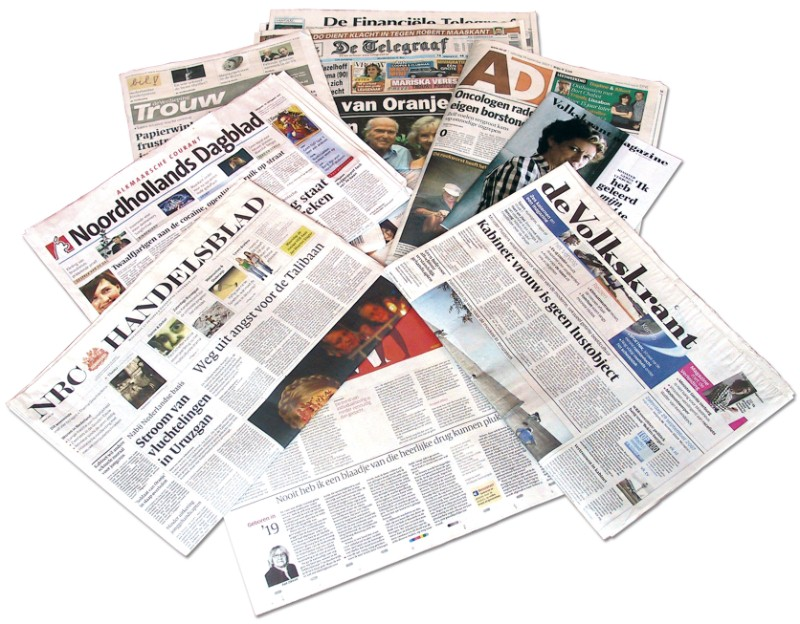 Dagbladen nu 24 nummers voor €4.95