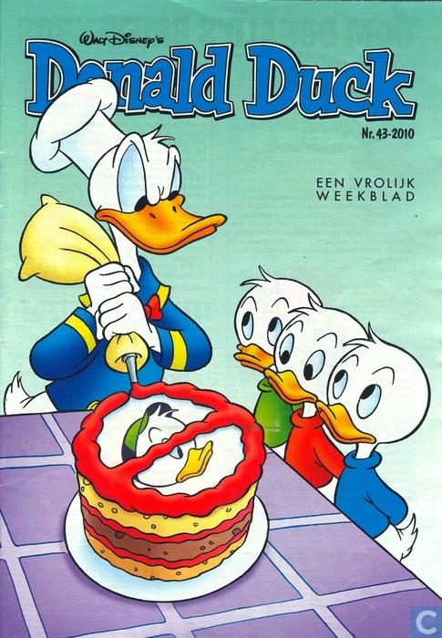 Disney verhalen met Donald Duck