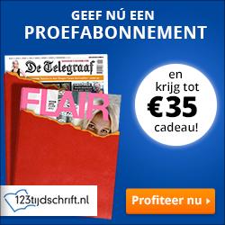 Geef Magazine cadeau en ontvang tot €35,- shoptegoed!