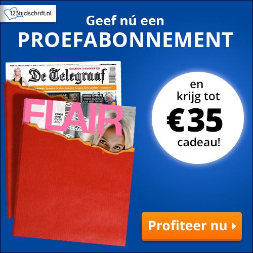 Kies jouw tijdschrift en ontvang tot €35 shoptegoed!
