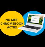 Thuis studeren bij NTI met Acer Chromebook t.w.v. €249,-