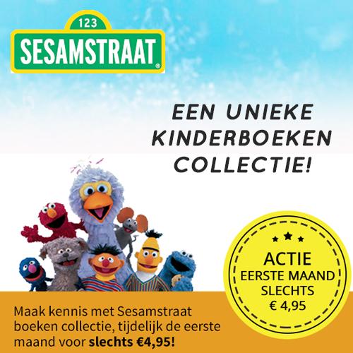 Kinderboekjes van Sesamstraat collectie €4.95 i.p.v €9.95
