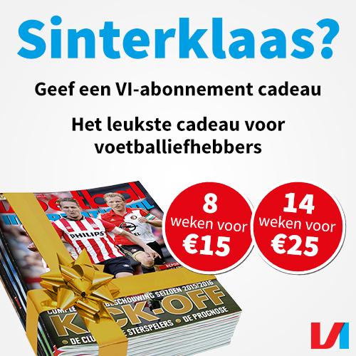 Wil jij een VI abonnement met Sinterklaas of Feestdagen? Nu 8 weken voor €15.-