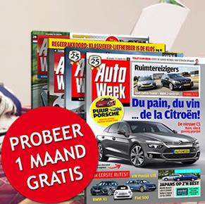 autoweek gratis blad dat jij mag proberen.