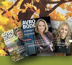 Een Avrobode abonnement+Gratis Bol.com cadeaubon t.w.v. € 10.-. 52 weken lang voor de prijs van € 25.- een informatief Tv magazine.
