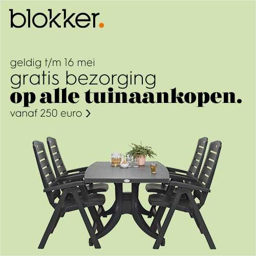 Blokker Actie Tuinmeubelen.Tuinmeubelen Bij Blokker Nu Super Voordelig Kijk Snel