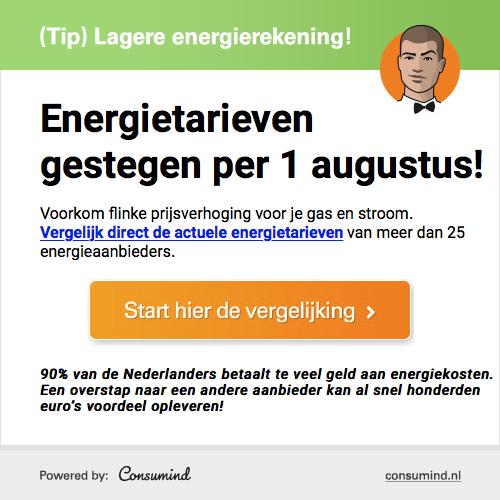 Consumind | Gratis goedkoopste Energiedeal ontvangen!