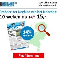 Nieuwsblad van het noorden | Weekendkrant 14% korting!