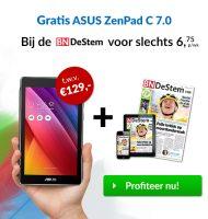 BN De Stem | Gratis Asus Zenpad C 70 | 46% korting