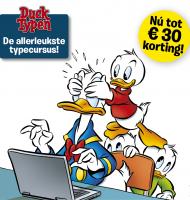 Nu €30,- euro korting op een typecursus | Ducktypen!