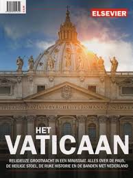 """Heb je interesse in het Elsevier opinie tijdschrift!Ontvang een abonnement van 25 weken met 75% korting en je krijgt gratis het magazine """"Het Vaticaan"""" t.w.v. € 8.95"""
