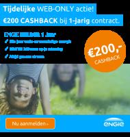 ENGIE Energie | €200- korting op duurzame Energie!
