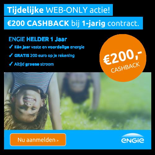 ENGIE Energie   €200- korting op duurzame Energie!