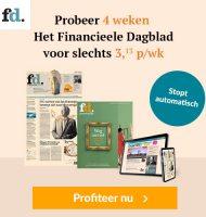 Financieele Dagblad 4 weken voor €12.50
