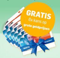 Gratis staatsloten bij Brabants Dagblad abonnement!