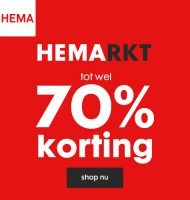 HEMARKT opruiming! Shop tot 70% korting