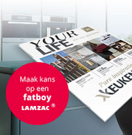 Gratis Keukenmaxx magazine + kans op Fatboy Lamzac!