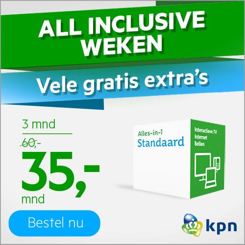 KPN aanbiedingen | Alles-in-1 nu €35.- per maand!