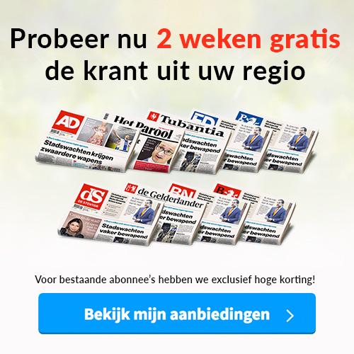 Gratis Krant! 2 weken Gratis je Regio krant ontvangen!