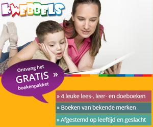 Kwebbels kinderboekenpakket helemaal GRATIS!