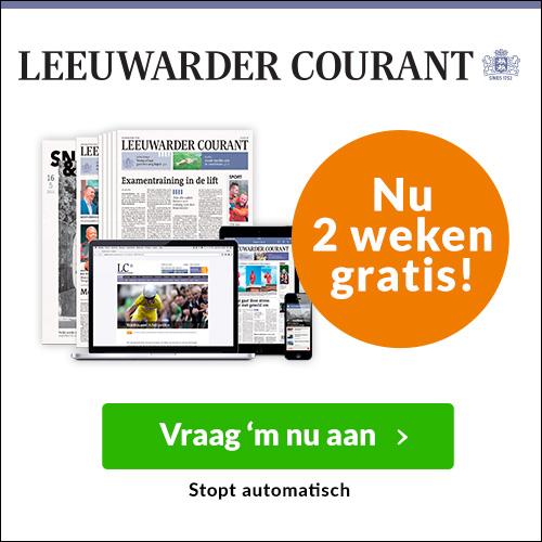 Probeer de Leeuwarder Courant 2 weken gratis uit! Nu6 dagen per week lekker de krant lezen. Het abonnement stopt automatische. Gratis 2 weken de krant!