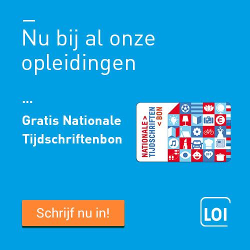 LOI Studies met gratis tijdschriftenbon t.w.v. €50.-!