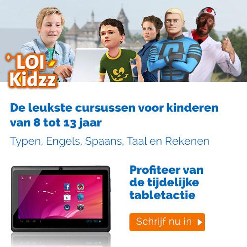 LOI Kidzz kortingen die je niet mag missen!Nu € 30,- korting op alle type en taalcursussen. Laat je kind weer plezier beleven in het naar schoolgaan en het studeren!