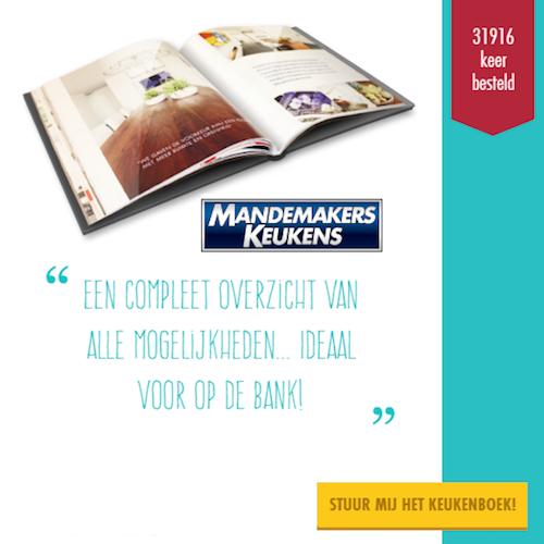 Mandemakers | Bestel een Gratis keukeninspiratie boek!