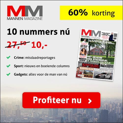 Mannen Magazine Een Blad voor mannen met 60% korting.