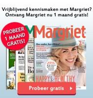 4x Gratis Margriet tijdschrift ontvangen?