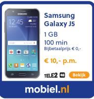 Samsung Galaxy J5 inclusief toestel €10.- p.m
