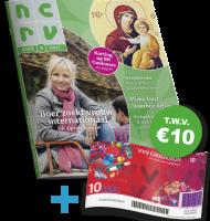 Tv gids NCRV nu extra voordelig. Nu €35,- per jaar + Gratis VVV bon t.w.v. €10.-. Een prima tv, radio en film magazine vol met leuke informatie.