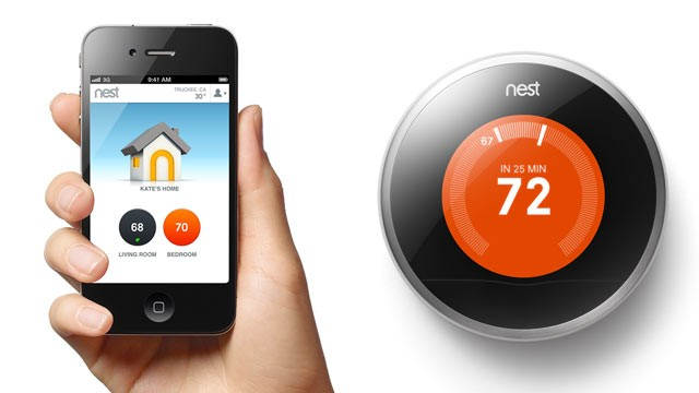 Nest thermostaat t.w.v. €249,- nu voor €49.-. plus gratis installatie.